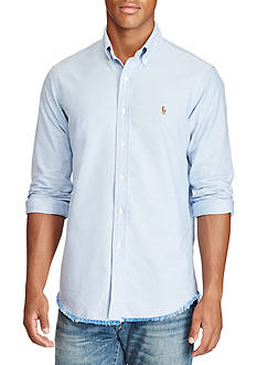 Polo Ralph Lauren Standard Fit Frayed Shirt
