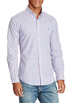 Polo Ralph Lauren Slim-Fit Cotton Poplin Shirt