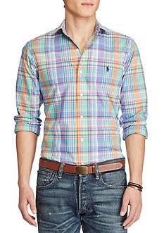 Polo Ralph Lauren Slim Fit Plaid Estate Shirt