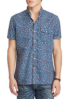 Polo Ralph Lauren Floral Cotton Oxford Shirt