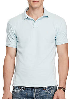 Polo Ralph Lauren Slim Fit Weathered Mesh Polo Shirt