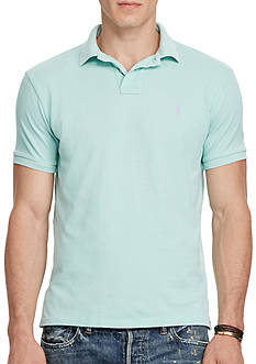 Polo Ralph Lauren Slim Fit Weathered Mesh Polo Shirt