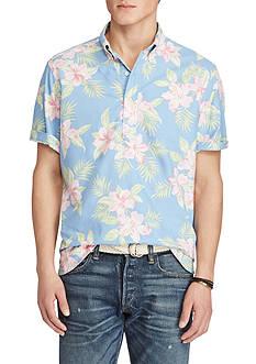 Polo Ralph Lauren Short-Sleeve Floral Oxford Shirt