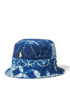 Polo Ralph Lauren Shibori Reversible Bucket Hat