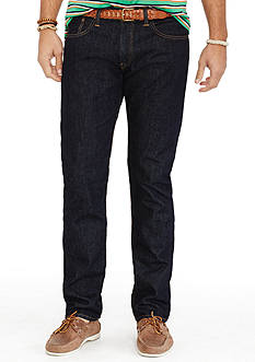 Polo Ralph Lauren Big & Tall Hampton Straight-Fit Rinse-Wash Jeans