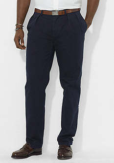 Polo Ralph Lauren Big & Tall Classic-Fit Pleated Chino Pant