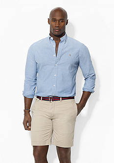 Polo Ralph Lauren Big & Tall Classic-Fit Flat-Front Chino Shorts