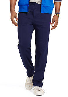 Polo Ralph Lauren Big & Tall Side-Stripe Interlock Track Pants