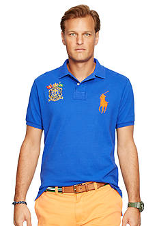 Polo Ralph Lauren Big & Tall Classic-Fit Nautical Crest Polo Shirt