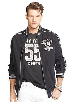 Polo Ralph Lauren Big & Tall Poplin Varsity Jacket