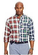 Polo Ralph Lauren Big & Tall Patchwork Plaid
