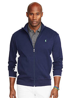 Polo Ralph Lauren Big & Tall Full-Zip Interlock Track Jacket