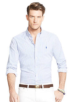 Polo Ralph Lauren Big & Tall Striped Stretch Performance Shirt