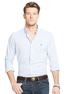 Polo Ralph Lauren Big & Tall Checked Stretch Performance Shirt