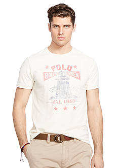 Polo Ralph Lauren Big & Tall Crew Neck Graphic T-Shirt