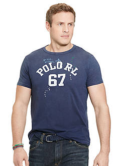 Polo Ralph Lauren Big & Tall Crew Neck Graphic Tee