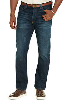 Polo Ralph Lauren Big & Tall Hampton Straight-Fit Stretch Jeans