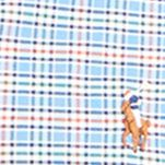 Mens Big and Tall Casual Shirts: Check & Plaid: Blue/Orange Multi Polo Ralph Lauren Big & Tall Checked Oxford Shirt