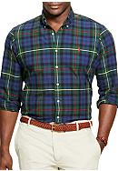 Polo Ralph Lauren Big & Tall Plaid Oxford Sport