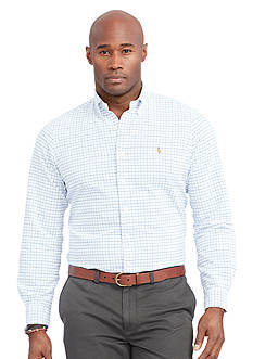 Polo Ralph Lauren Big & Tall Tattersall Oxford Shirt