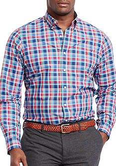 Polo Ralph Lauren Big & Tall Plaid Poplin Shirt