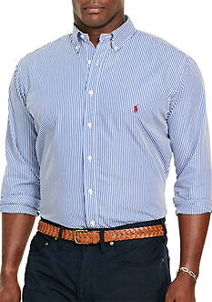 Polo Ralph Lauren Big & Tall Patterned Poplin Shirt