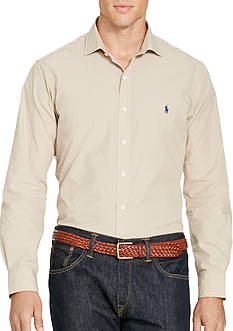 Polo Ralph Lauren Big & Tall Cotton Poplin Sport Shirt