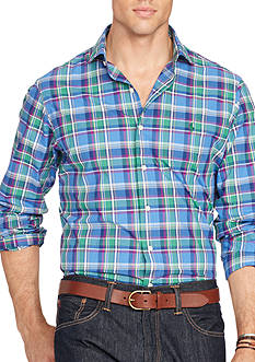 Polo Ralph Lauren Big & Tall Plaid Estate Shirt