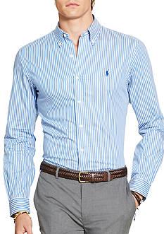 Polo Ralph Lauren Big & Tall Cotton Twill Sport Shirt