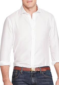 Polo Ralph Lauren Big & Tall Cotton Twill Sport Shirt