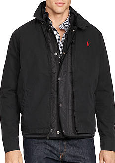 Polo Ralph Lauren Big & Tall Cotton Poplin Windbreaker