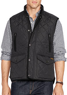 Polo Ralph Lauren Big & Tall Diamond-Quilted Vest