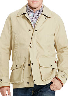 Polo Ralph Lauren Big & Tall Cotton-Blend Twill Coat
