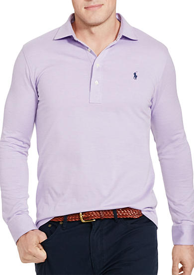 Polo Ralph Lauren Big & Tall Cotton Jacquard Popover