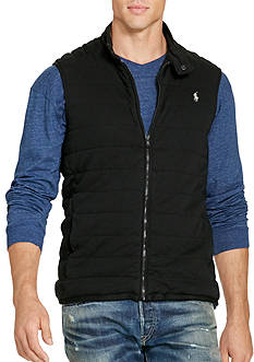 Polo Ralph Lauren Big & Tall Pima Cotton Interlock Vest