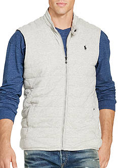 Polo Ralph Lauren Big & Tall Quilted Jersey Vest