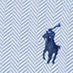 Ralph Lauren Big and Tall: Maidstone Blue Polo Ralph Lauren Big & Tall Herringbone Knit Dress Shirt