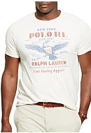 Polo Ralph Lauren Big & Tall Crew Neck Graphic