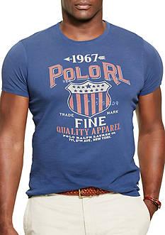 Polo Ralph Lauren Big & Tall Crew Neck Graphic T-Shirt