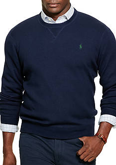 Polo Ralph Lauren Big & Tall Combed Cotton Sweater