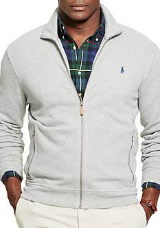 Polo Ralph Lauren Big & Tall Ribbed Cotton Full-Zip Jacket