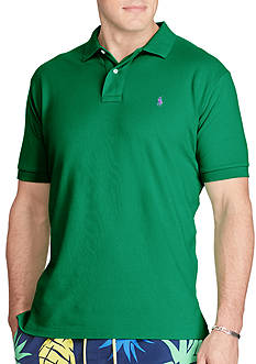 Polo Ralph Lauren Big & Tall Classic-Fit Mesh Polo