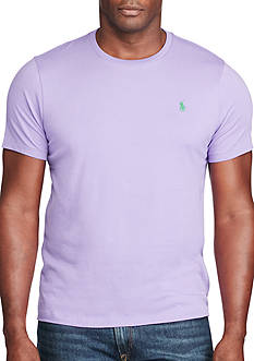 Polo Ralph Lauren Big & Tall Cotton Jersey Crew Neck T-Shirt