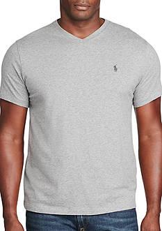 Polo Ralph Lauren Big & Tall Cotton Jersey V-Neck T-Shirt