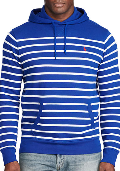 Polo Ralph Lauren Big & Tall Striped French Terry Hoodie
