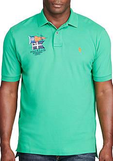 Polo Ralph Lauren Big & Tall Classic-Fit Cotton Mesh Polo