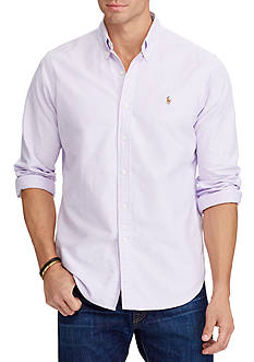 Polo Ralph Lauren Big & Tall Cotton Oxford Shirt