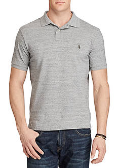 Polo Ralph Lauren Big & Tall Classic Weathered Mesh Polo