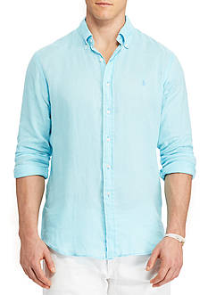 Polo Ralph Lauren Big & Tall Classic Fit Ocean-Wash Shirt
