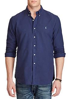 Polo Ralph Lauren Big & Tall Garment-Dyed Cotton Shirt